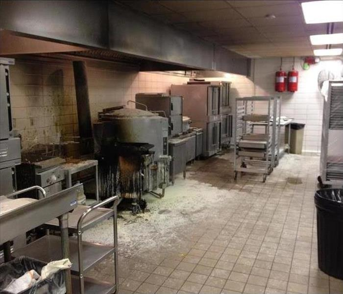 Commercial Fire Loss in Joliet, IL Before